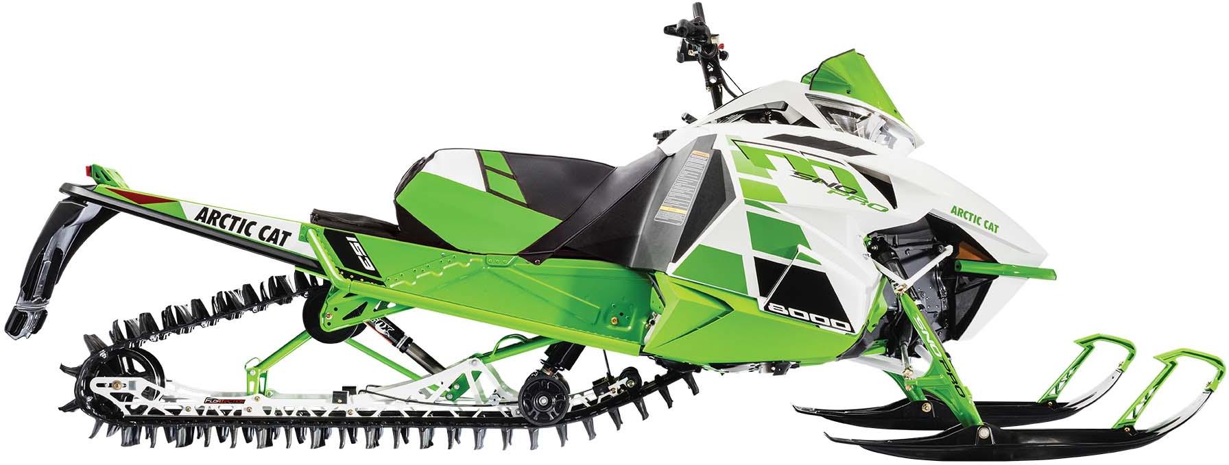 2017 M8000 SnoPro 153 Green